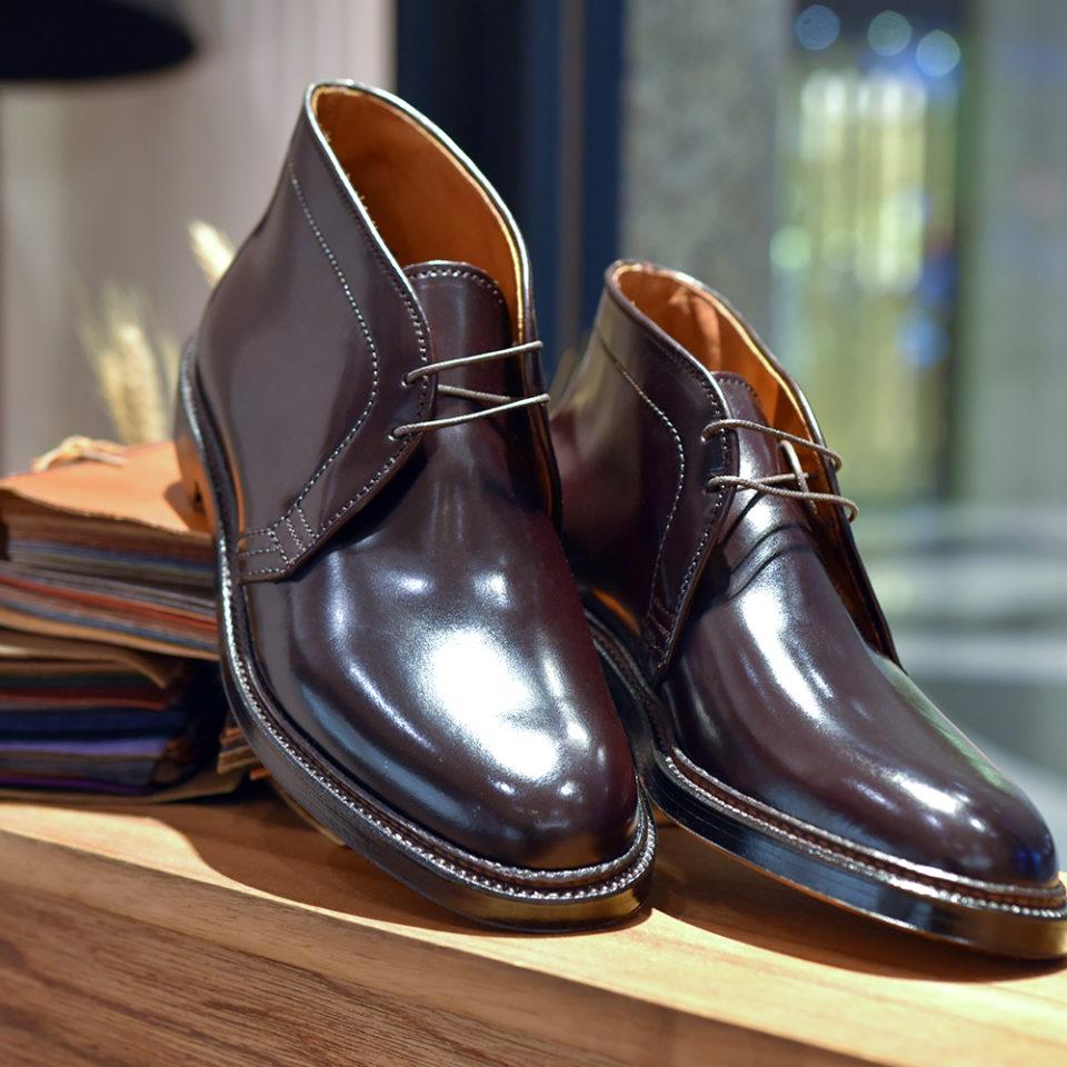 Alden 1339 1340 Cordovan Chukka Boots
