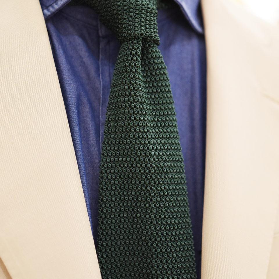 Sozzi Knit tie 夏季針織領帶